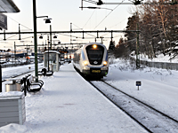 Pendeltåg i Spånga